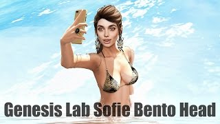 Genesis Lab Sofie Bento Head in Second Life
