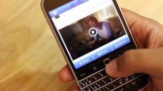 BlackBerry Classic - как работает трекпад.