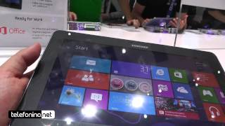 Samsung ATIV Tab 10.1 videopreview da Telefonino.net