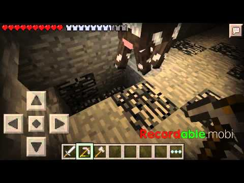 Mcpe part 2 mining trying to find the diamond fail