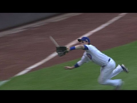 STL@CHC: Coghlan lays out to make a great catch