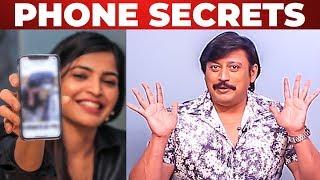Sanchita Shetty's Phone Secrets Revealed by Top Star Prashanth | What's Inside the PHONE