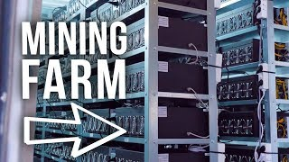Inside of a HUGE AUSTRIAN BITCOIN mining FARM !