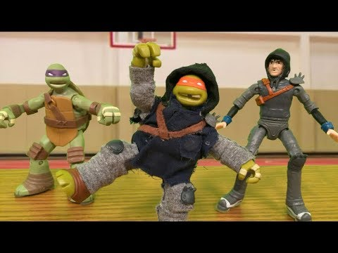 TMNT 2018 Stop Motion Back to School Special!