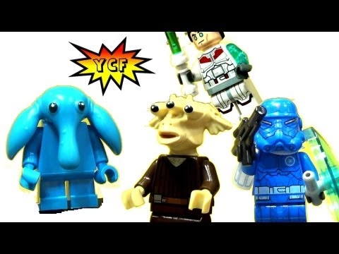 LEGO 2013 Summer Star Wars Minifigures NY Toy Fair 2013