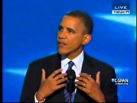 President Obama Acceptance Speech at 2012 Democratic National Convention