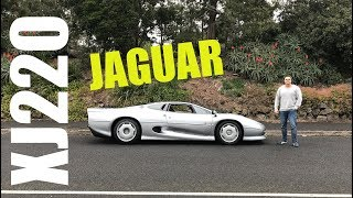 Jaguar XJ220 - How AWESOME is it? First Drive Impression