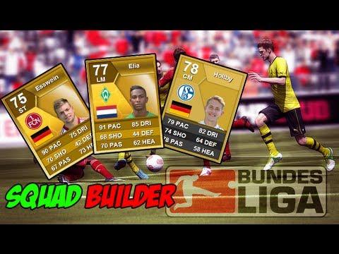 FIFA 13  Team Review & Squad Builder - BUNDESLIGA LOW COST! DEVASTACULI!