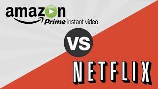 NETFLIX VS AMAZON PRIME VIDEO ¿QUÉ SERVICIO ES MEJOR?- Análisis al Detalle