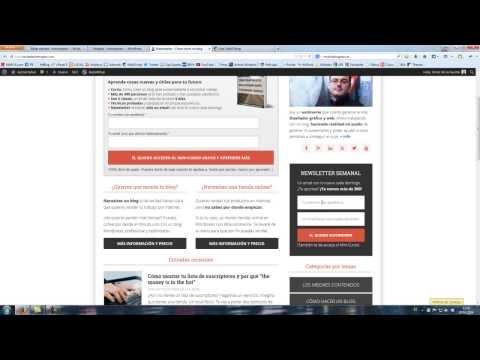 Plugins de genesis-  eNews Extended con MailChimp