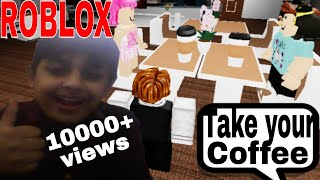 Working At The Roblox Coffee Shop