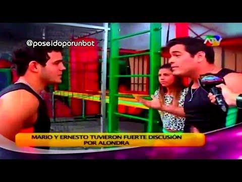 COMBATE: Mario Irivarren Discutio con Ernesto por Alondra 01/11/13