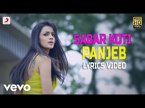 Panjeb - Lyrics Video | Sabar Koti
