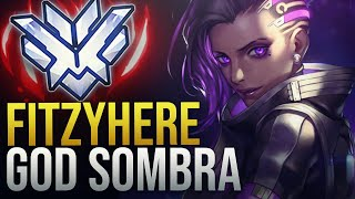 Fitzyhere - THE GOD SOMBRA WITH 200 IQ  - Overwatch Montage