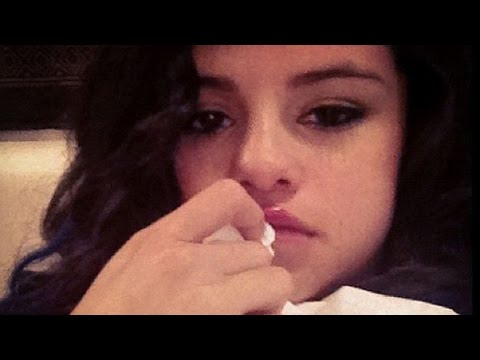 Selena Gomez Has A Crying Meltdown Over Justin Bieber video