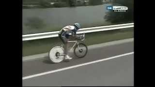 Indurain the most incredible time trial ever seen Tour 1992 part 1 of 2