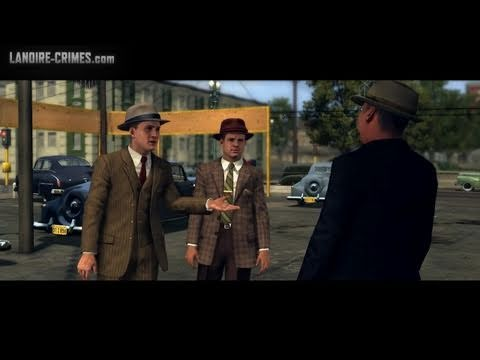 LA Noire - Walkthrough - Bonus Mission #1 - A Slip of the Tongue (5 Star)