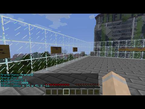The HungerGames | Bukkit Plugin 1.7.9 | German | HD