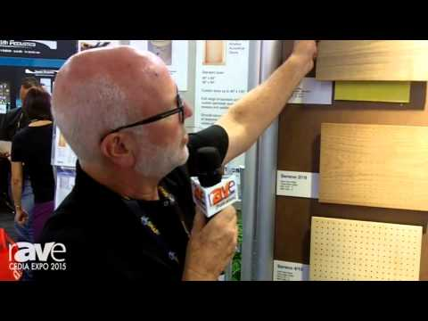 CEDIA 2015: Kinetics Noise Control Shows Off Its Acoustical Wood Collection