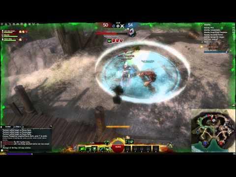 Guild Wars 2 - Necromancer PvP [DS Might Spike Build] ft. Devourerofmemes