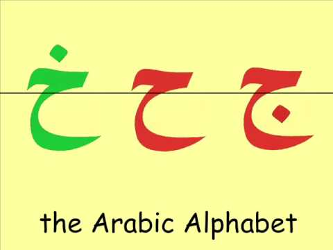 The Complete Arabic Alphabet -- ا�حر�� ا�عرب�ة