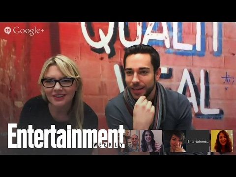 Zachary Levi from 'Thor: The Dark World' Hangout with Entertainment Weekly