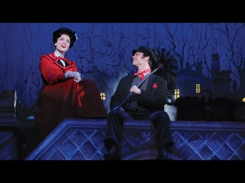 """Step In Time"" Backstage at MARY POPPINS!"