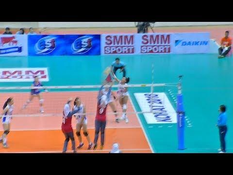 Alyssa Valdez BOMBS away! | 6th Asian Women's Volleyball Cup 2018