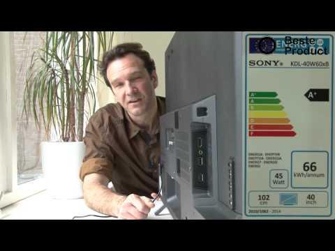 Review Sony KDL-40W605