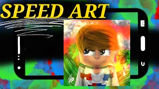 ★SPEED ART CARTOON Clantu11 PvP★ (CLIENTE) #52