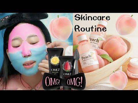 Night Time Skincare Routine Only Using Korean Skincare Products