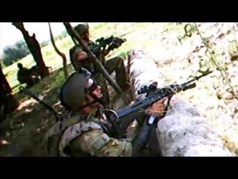 Rare Helmet Cam Firefight From Australian Army