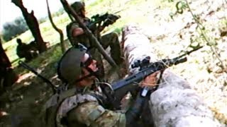 Rare Helmet Cam Firefight From Australian Army