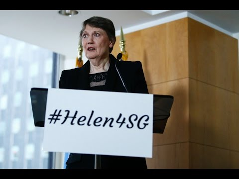 Former New Zealand PM Helen Clark wants to be next UN chief