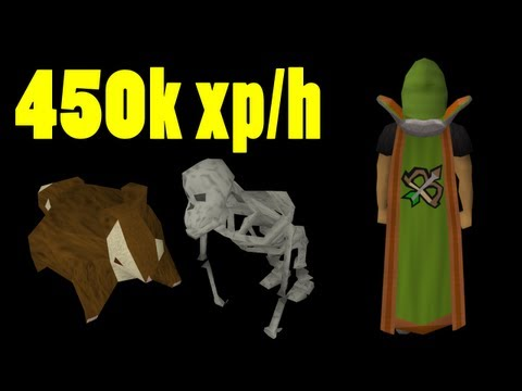 Runescape Ape Atoll Chinning Guide – 450k+ range/hitpoints exp per hour (December 2011)
