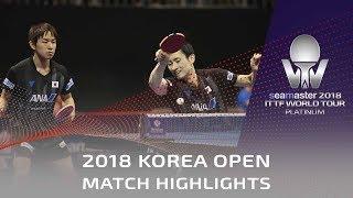 Koki Niwa/Jin Ueda vs Jakub Dyjas/Alvaro Robles   2018 Korea Open Highlights (R16)
