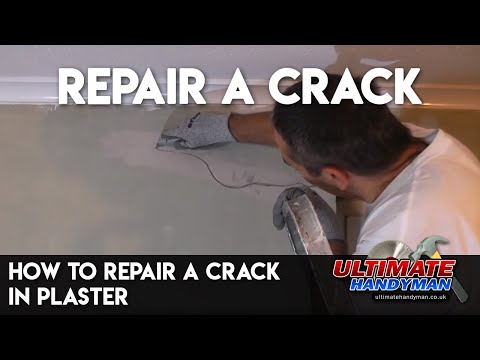 how to fix cracks in ceiling before painting