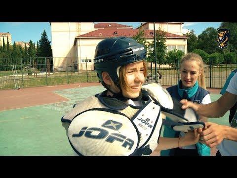 Хоккейная физкультура: школа № 28 (Адлер)