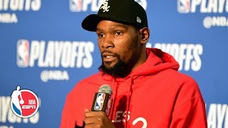 "'You can't just say ""I'm going to stop Lou Williams tonight""' – Kevin Durant 