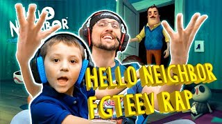 FGTEEV HELLO NEIGHBOR RAP Song Hide and Seek by GumaGa