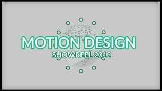 MOTION DESIGN - Showreel 2012
