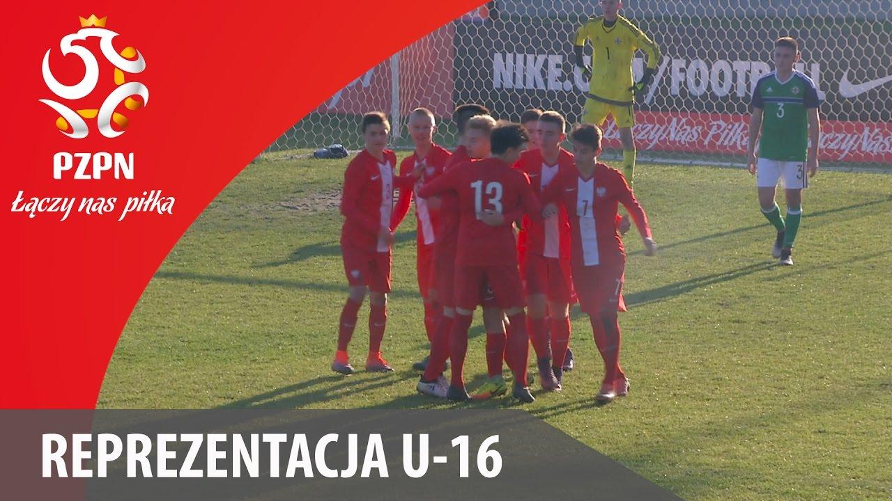 U-16: Skrót meczu Polska - Irlandia Północna