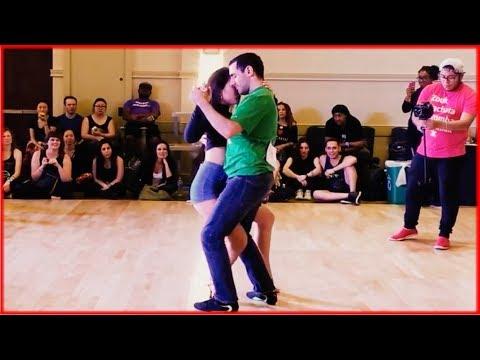 "Eddie & Hannah - 1st Place Intermediate Jack & Jill  - 2017 DC Zouk Fest - ""Dancing Queen"""