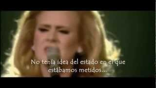 Adele Video - Adele - Don't You Remember (live) (Subtitulada al Español)