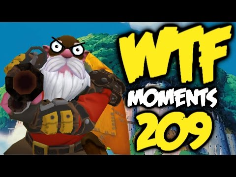 Dota 2 WTF Moments 209 | dota