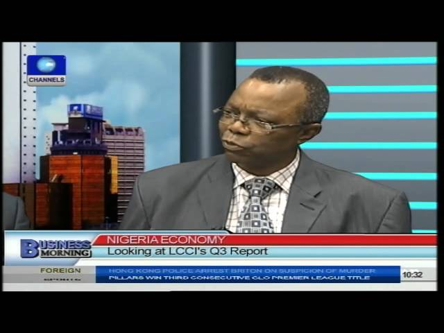 Business Morning: Implications Of Crashing Oil Price PT1