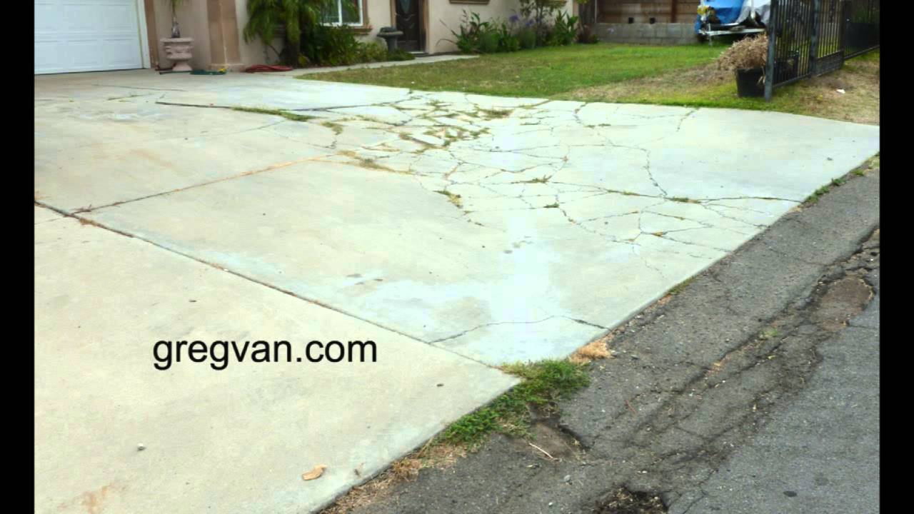 Watch this before you build a concrete driveway design for Concrete advice