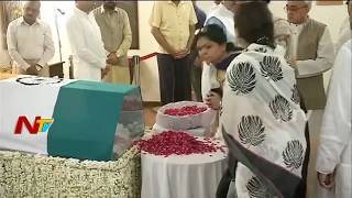 AB Vajpayee Mortal Remains at His Residence | Vajpayee's Samadhi will be Done at Vijay Ghat, at 4pm