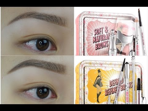 How To: BROWS ft. NEW Benefit Brow Kits!
