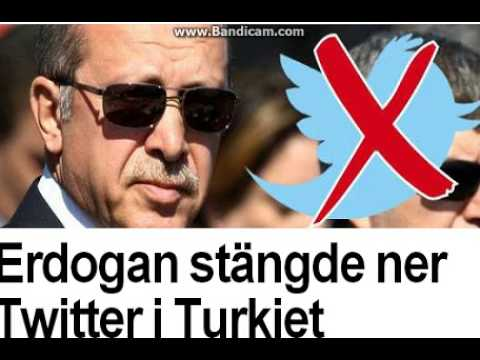 Erdogan shut down Twitter in Turkey